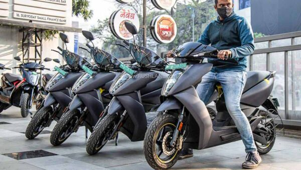 Ather Electric Scooter Sales July 2021