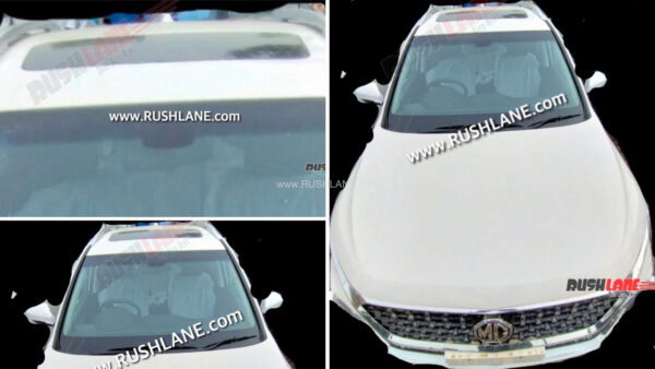 MG Hector Shine Variant Spied