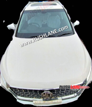 MG Hector Shine Variant Spied For First Time