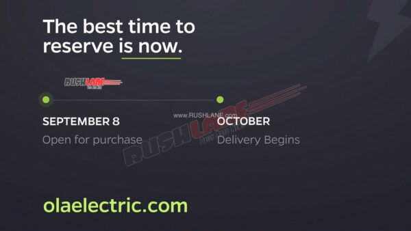 Ola Electric Scooter Delivery Starts In Oct