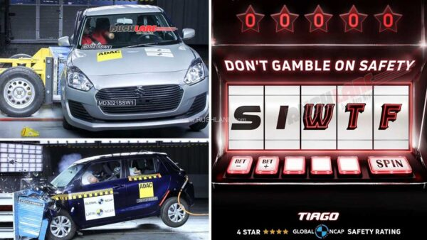 Tata Makes Fun Of Swift Safety