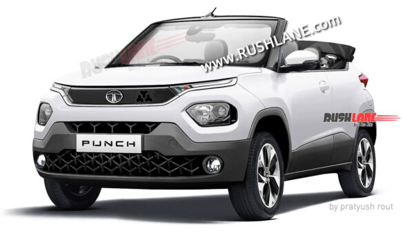 Tata Punch Convertible SUV