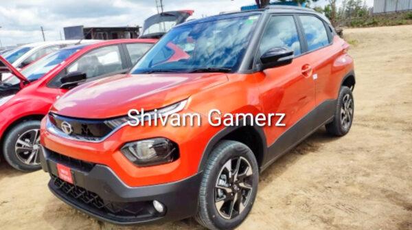 New Tata Punch At Dealer Yard