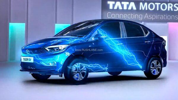 2021 Tata Tigor Electric Launched