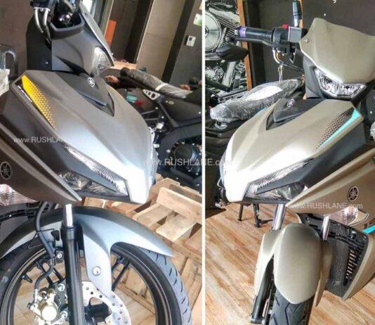 Yamaha Aerox 155cc Scooter India