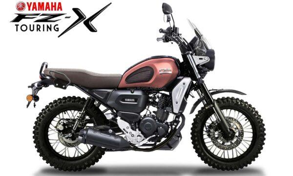 Yamaha FZ-X Design Challenge