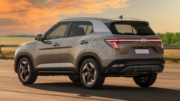 Hyundai Creta facelift renders