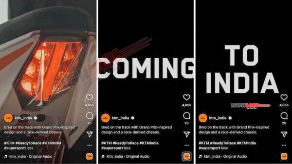 New Gen KTM RC Launch Soon