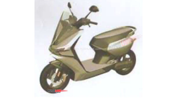 Ather electric scooter patent