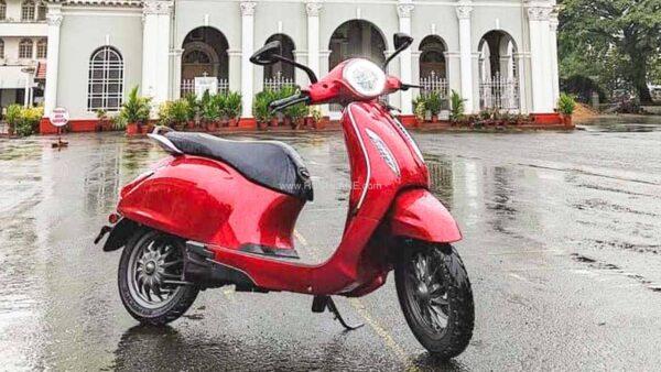 New Bajaj Chetak Electric Scooter