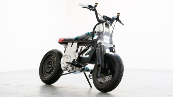 New BMW Electric Moped - Concept CE 02