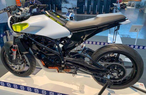 Husqvarna electric motorcycle E-Pilen