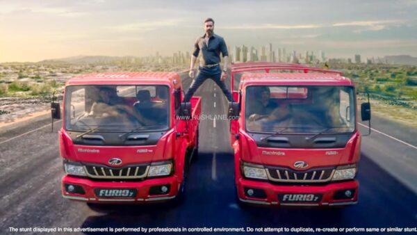 Mahindra Furio 7 Trucks Launch
