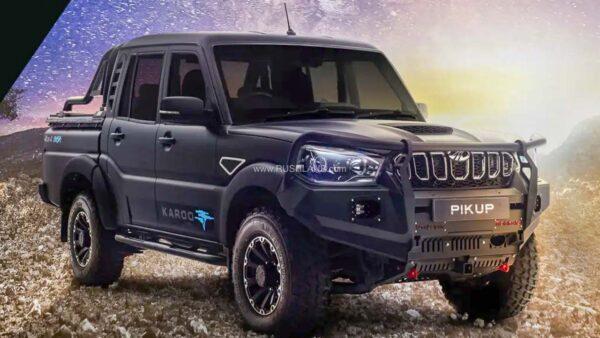 Mahindra Scorpio Pickup 4X4 Dusk Edition