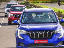 Mahindra XUV700 Colours