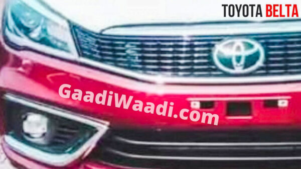 Maruti Ciaz with Toyota Badge - To be called Belta