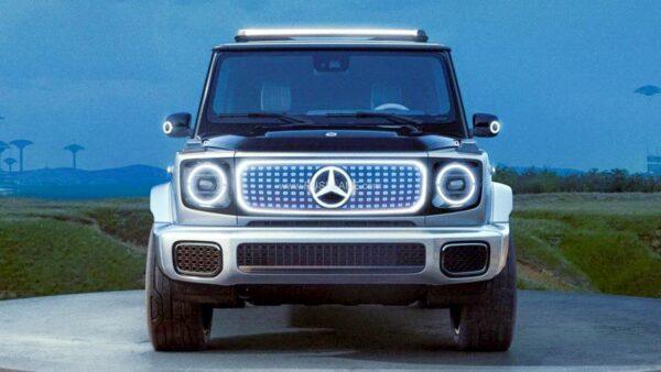 Mercedes G Classi Electric SUV Concept
