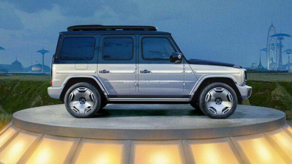 Mercedes G Classy Electric SUV Concept