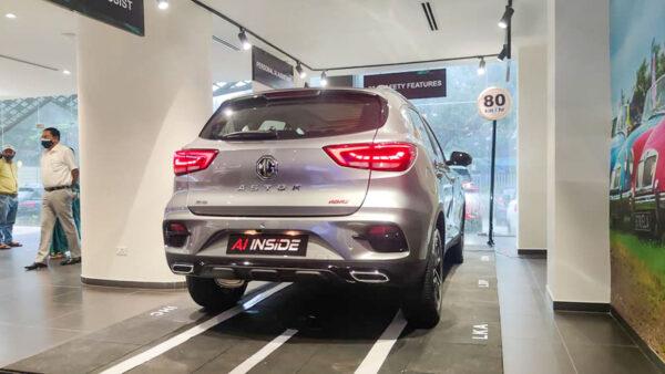 New MG Astor