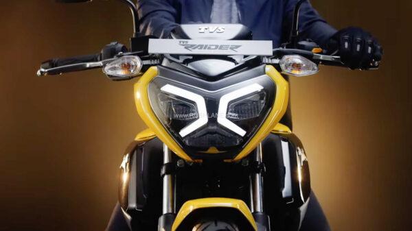 New TVS Raider 125cc Motorcycle