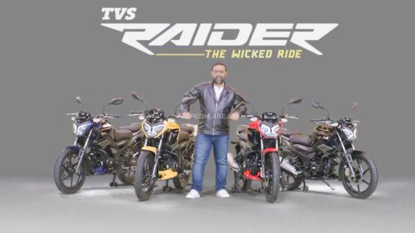 TVS Raider 125cc