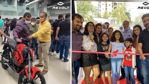 Revolt Electric Motorcycle Launch