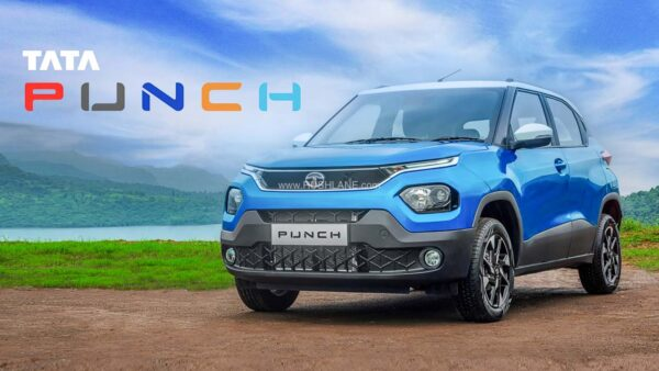 Tata Punch - Five Colours Hint