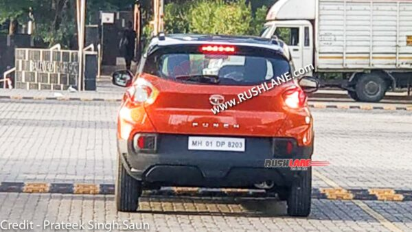 Tata Punch Orange Colour