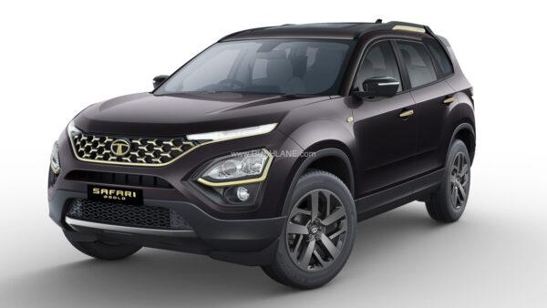 Tata Safari Gold Edition