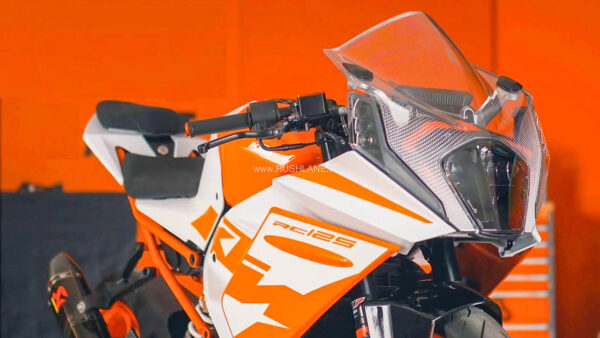 New KTM RC 125