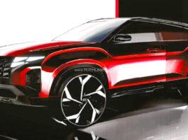 2022 Hyundai Creta Facelift Teaser