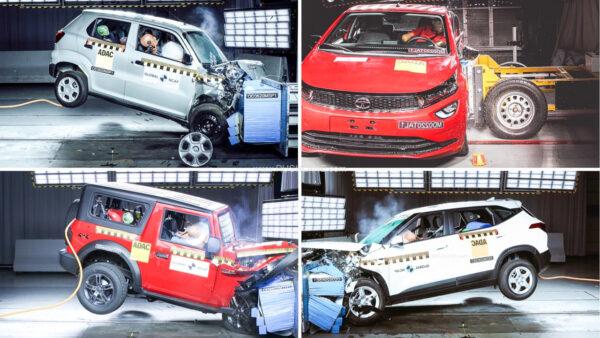 Global NCAP crash testing Indian cars