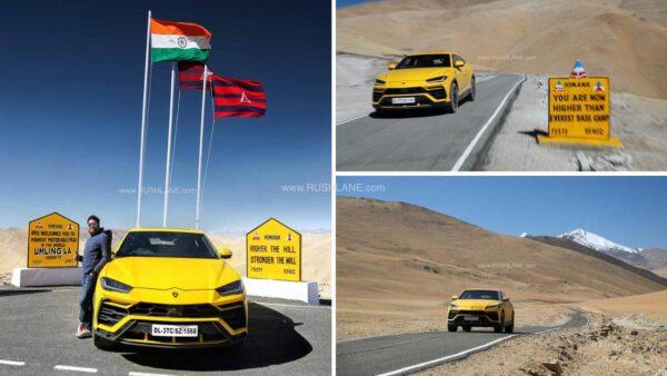 Lamborghini URUS reaches Umling La