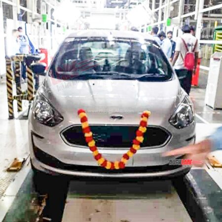 Last Ford car from India plant in Sanand, Gujarat