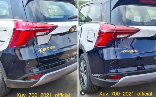 New Mahindra XUV700 Gold Edition