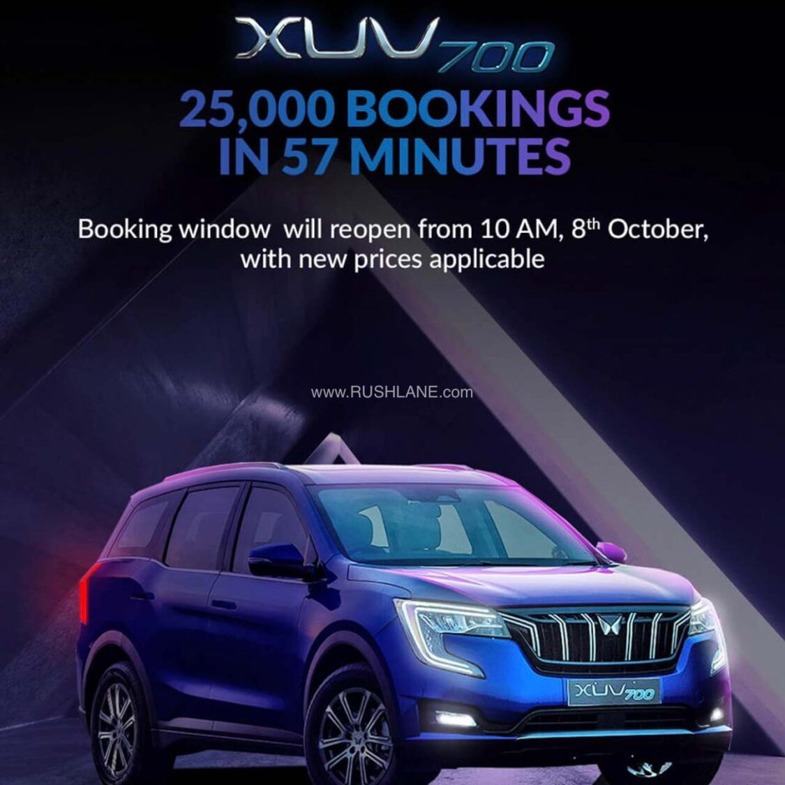 Mahindra XUV700's first batch sold out