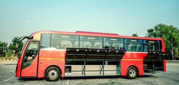 New Eicher Luxury Bus