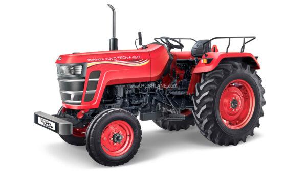 New Mahindra Yuvo Tech + Tractor