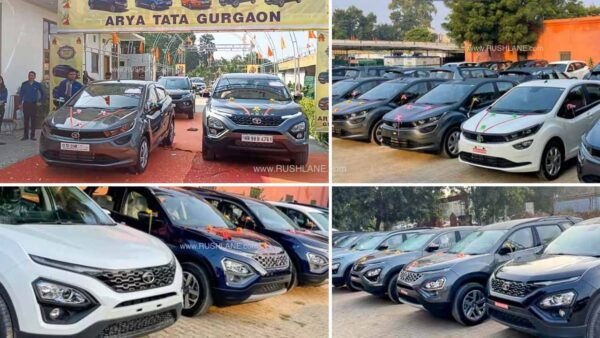 Tata Car Delivery Record New