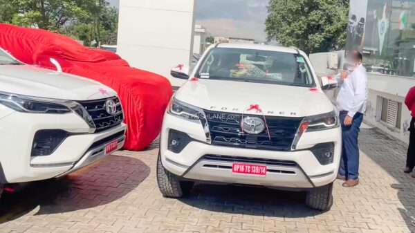 New Toyota Fortuner Sales