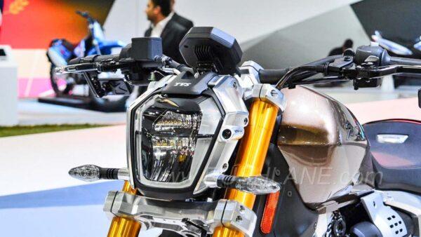 TVS Zepplin Electric Motorcycle